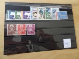 Europa Cept Jahrgang 1957 Postfrisch Komplett (11517) - 1957