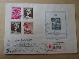 Polen Michel Block A I Auf Bedarfsbrief (11806) - 1944-.... République