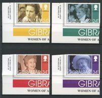 Gibraltar 1996 N° 764/767 ** Neufs MNH Superbes C 7 € EUROPA Femmes Célèbres Lady Diana Elizabeth II Princesse Anne - Gibraltar