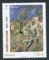 2013 France Y&T N°4716 Neuf** - Chaïm Soutine - France