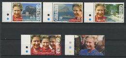 Gibraltar 1992 N° 642/646 ** Neufs MNH  TTB C 7 € Elizabeth II Anniversaire Accession Trône Portraits - Gibraltar
