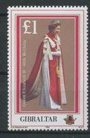 Gibraltar 1986 N° 520 ** Neuf MNH Superbe C 5 € Elizabeth II Anniversaire Portraits - Gibraltar