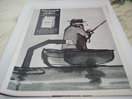 ANCIENNE PUBLICITE TENTE CIGARETTE  KENT 1968 - Unclassified