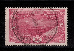 Cote Des Somalis - YV 136 Oblitéré Cote 9 Euros - Côte Française Des Somalis (1894-1967)