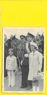 Belgique La Famille Royale à Nieuport Inauguration Monument Roi Albert - Familles Royales