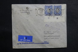 KENYA - Enveloppe 1er Vol De Nairobi Pour Johannesburg En 1953, Affranchissement Plaisant - L 39996 - Kenya, Uganda & Tanganyika