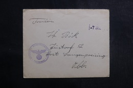 ALLEMAGNE - Enveloppe En Feldpost , à Voir - L 39999 - Allemagne