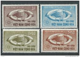 Vietnam Du Sud N° 234 / 37 XX Utilisation Pacifique De L'énergie Atomique. Les 4  Vals  Ss Charnière  TB - Viêt-Nam