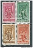 Vietnam Du Sud N° 226 / 29 XX15ème Ann. De La Déclaration Univers.des Droits De L'Homme. Les 4  Vals  Ss Charnière  TB - Viêt-Nam