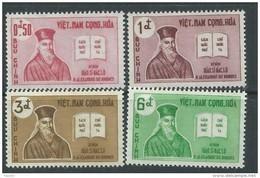 Vietnam Du Sud N° 173 / 76  XX Tricentenaire De La Mort Du Père Alexandre De Rhodes.  Les 4  Valeurs  Sans Charnière  TB - Viêt-Nam