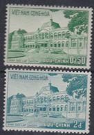 Vietnam Du Sud N° 120 / 21 XX  Palais De L'Indépendance.  Les 2 Valeurs Sans Charnière, TB - Viêt-Nam