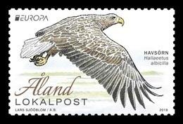 Aland 2019 Mih. 471 Europa. National Birds. Fauna. White-Tailed Eagle MNH ** - Aland