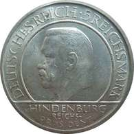 Reichsmark 1929 A - HINDENBURG -Deutsches Reich - [ 3] 1918-1933: Weimarer Republik