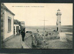 CPA - SAINT BRIEUC - Le Phare De Légué, Animé - Saint-Brieuc