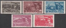 ROMANIA  Michel  1057/61   ** MNH - 1918-1948 Ferdinand, Carol II. & Mihai I.