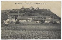 CPA 39 Jura Chevreau Chevreaux Près De Cousance Gizia Digna Cuiseaux Rosay Cressia Maynal Orgelet Champagnat Louhans - France