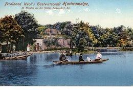 HOCHRAMALPE Bei Gablitz, Ferdinand Wech's Gastwirtschaft, Bootsverleih, Copyright F.Wech 7.6.1913, - St. Pölten