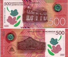 NICARAGUA       500 Cordobas       P-New       L. 18.10.2017 (2019)       UNC - Nicaragua