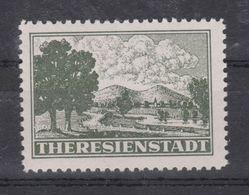 Duitse Rijk / Deutsches Reich Theresienstadt Zulassungsmark - Type 1 - MNH COPY - FACSIMILE - NACHDRUK - Bohemia & Moravia