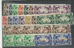 Océanie France Libre Cote YT 48€ Voir Description - Briefmarken