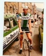 CYCLISME - Jean Luc VAN DEN BROUCKE - Dédicacée - Equipe La REDOUTE - Format : 176 X 242 Environ - Cycling