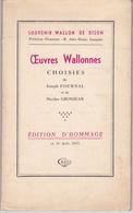 Oeuvres Choisies De Fournal Et Grosjean – Souvenir Wallon De Dison (Verviers) - Belgique