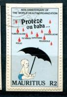 Maurice 1988 - YT 696 (o) Sur Fragment - Maurice (1968-...)