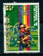 Sénécal 1976 - YT 442 (o) - JO Montréal 1976 - Senegal (1960-...)