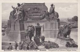 AP70 Bruxelles, Tombeau D'un Soldan Inconny Belge - Monuments
