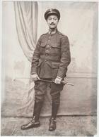 ARMÉE BELGE - Photo ( 18,50 Cm  X 13 Cm ) Maréchal Des Logis Chef - Guerre, Militaire
