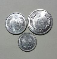 CINA / CHINA - 5, 2, 1 FEN (1983 / 1982 / 1984) - Cina