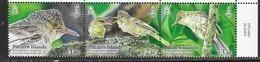 PITCAIRN ISLAND, 2019, MNH, BIRDS, WARBLERS, 3v - Birds