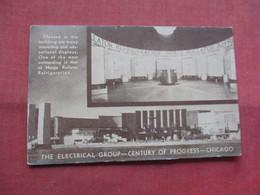 Norge Rollator Refrigeration Century Of Progress Chicago  Has Crease    Ref    3565 - Advertising