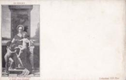AR61 Art - La Vierge, L'Enfant Jesus Et Saint Jean Baptiste By Humbert - Paintings