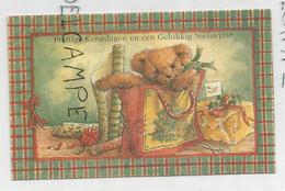 Ourson Dans Un Sac, Cadeaux, Papier D'emballage. - Anno Nuovo