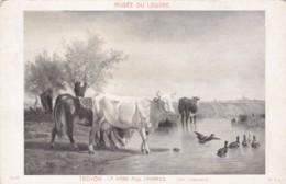 AR61 Art - La Mare Au Canards By Troyon - Paintings