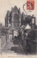 AS83 Beauvais, La Rue Feutrier Et La Cathedrale - Beauvais