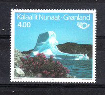 Groenlandia   -  1991. Turismo Estivo In Groenlandia. Fiori, Iceberg. Summer Tourism In Greenland. Flowers. MNH - Vacanze & Turismo