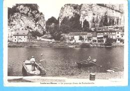 -Lustin-sur-Meuse (Profondeville)+/-1945-Le Passage D'eau-barques -Bac De Traversée-Passeur D'eau-L'Edition Belge - Profondeville