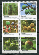 Brazil 2016 Brasil / Fruits MNH Frutas Früchte / Cu7713  23-21 - Frutas
