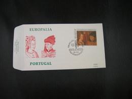 """BELG.1991 2409 FDC (Geraardsbergen) : """" Europalia 91 Portugal """" - 1991-00"""