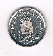 10 CENTS 1984 NEDERLANDSE ANTILLEN /6261/ - Antilles Neérlandaises