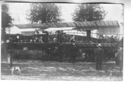 CARTE PHOTO  Aéroplane ( à Situer ) - ....-1914: Precursors