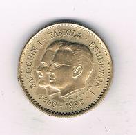 MEDAILLE 1990 BELGIE /6263/ - 1951-1993: Baudouin I
