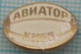 USSR / Badge / Soviet Union / UKRAINE. Rugby. Club Aviator. Aviation. Antonov Aircraft Factory. Kiev 1970s - Rugby