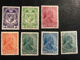 FL 1917/18 Zumstein-Nr. 4-10 * Ungebraucht Mit Falz - Unused Stamps