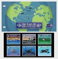 H01 Isle Of Man 2019 100 Years Of Transatlantic Flight  Presentation Pack - Man (Insel)
