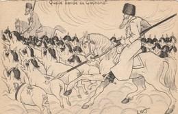 CPA  Patriotique Militaria Anti-Germanique Anti Allemagne Anti Boche Cochon Porc Pig Causaque Illustrateur (2 Scans) - Patriotic