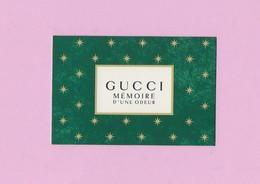 Carte De Gucci - Cartes Parfumées