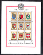 Austria  - 1976. Blasoni Dell Provincie Austriache. Blazons Of Austrian Provinces. MNH - Francobolli